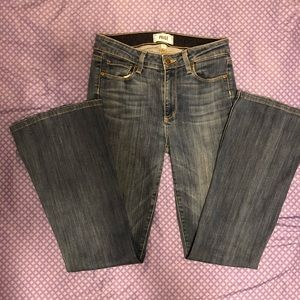 Paige High Rise Bell Bottom Jeans size 27